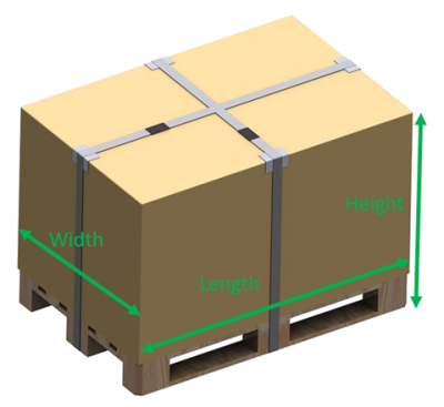 Myparcel skid dimensions
